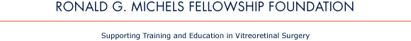 Ronald G. Michels Fellowship Foundation